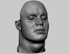 Mark Ruffalo Head 3D print model