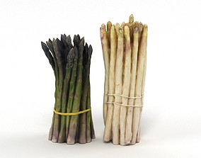 Asparagus Collection 3D model