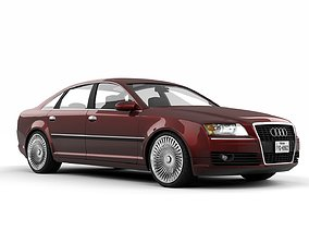 Audi A8 Quattro 2005 3D