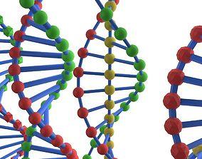 life DNA 5 pack 3D model