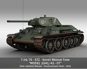 T-34-76 - Model 1941 -Soviet medium tank - 07