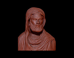3D printable model Jesus bust
