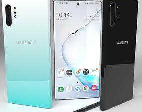portable 3D model Samsung Galaxy Note 10 Plus