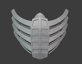 3D printable model Scorpion mask like as from Mortal 5