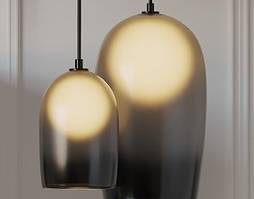 CRUX 20 and 12 inch Pendant Lamps by Allied Maker 3D model