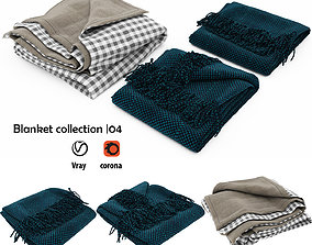 Blanket collection 04 plaid 3D model