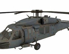 3D model UH-60 Black Hawk