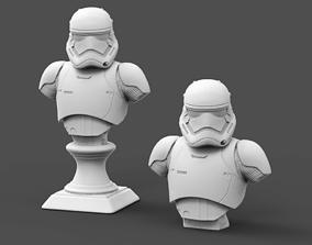 1st galaxy trooper Bust Fan Art 3D print model