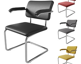 Knoll Cesca Armchair Upholstered 3D model