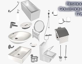 3D asset Restroom collection - NO brand