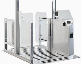 3D model Security Gates