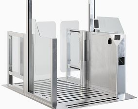 3D model Security Gates