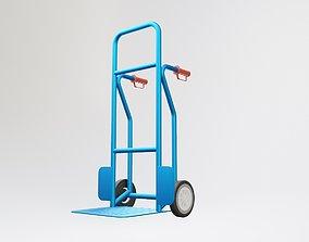 transport Hand Pallet Truck 3D model