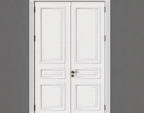 Door 3D model white