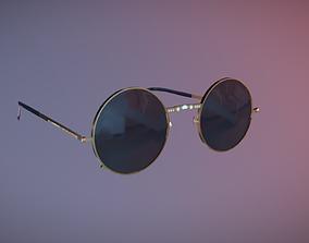 3D model Retro Sunglasses
