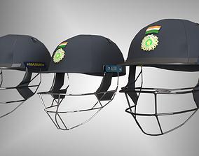 Cricket helmet kohli 3D model