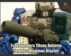 Transformers Titans Returns Fortress 3D printable model 2