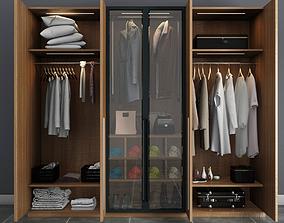 modern wardrobe 3D