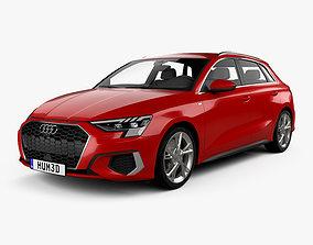 3D Audi A3 S-line sportback 2020