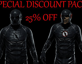 3D model Zoom and Black Flash