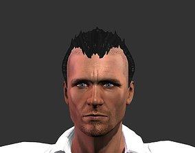 Hair models 3D asset