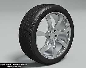 Tire Bridgestone Potenza 3D model