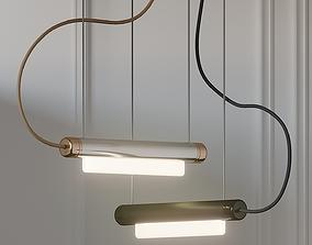 3D model Tyson Pipeline 40 ANDlight Pendant Light