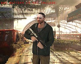 3D Civilian Male