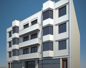3D Apartment Building 05