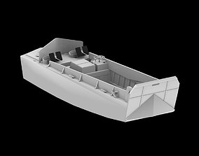 LCVP Landing Craft Vehicle and Personnel 3D