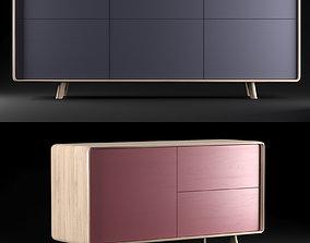 NEVA sideboard ARTISAN set of 2 3D