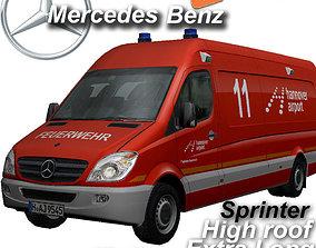 3D asset Mercedes-benz Sprinter Hannover