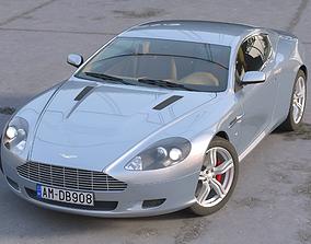 3D Aston Martin DB9 2008