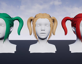 Hairstyle 6 3D model