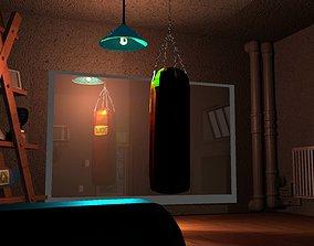 Gym Interior AAA 3D asset