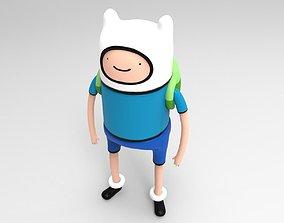 3D model Finn from Adventure Time