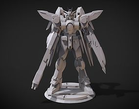 3D printable model Wing Gundam Zero