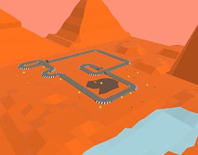 Race Track - 02 3D asset