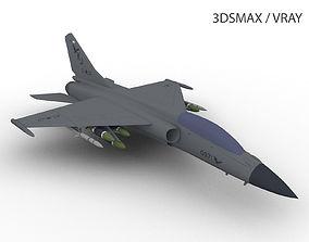 3D asset JH-7 XIAN