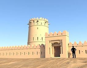 Arab Fort monnument 3D model