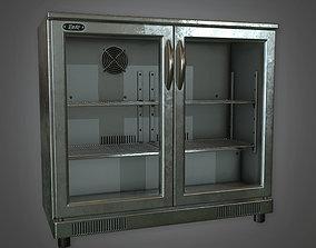 3D model Bar Cooler 01 Dive Bar - PBR Game Ready