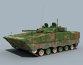 China ZBD-04 Infantry fighting vehicle 3D model