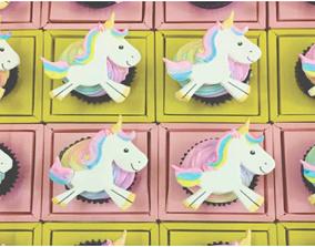 3D print model Unicorn Cookie Cutters