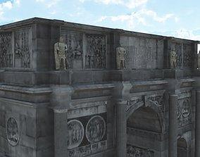 Constantine Arch 3D model