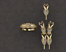 jewelry full set free dowland 3D printable model