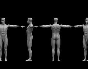 negro man ful figure 3d model