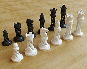 Chess - No supports 3D print model