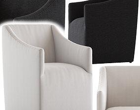 3D model Coco Republic Avalon Dining Chair