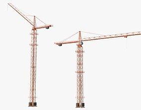 Tower Crane Modular 01 3D model