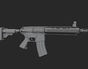 3D asset AR-15